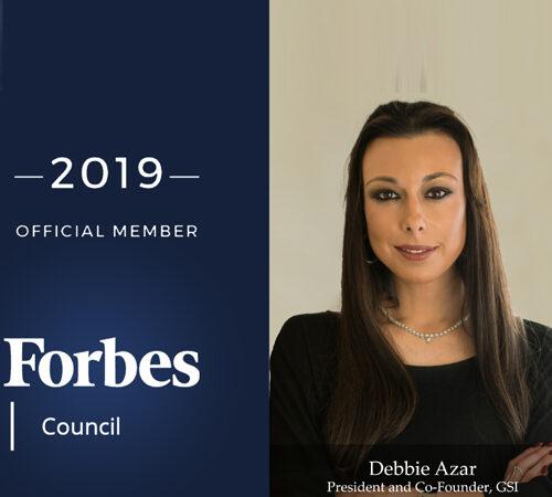 GSI's Debbie Azar Joins Forbes Executive Council in New York
