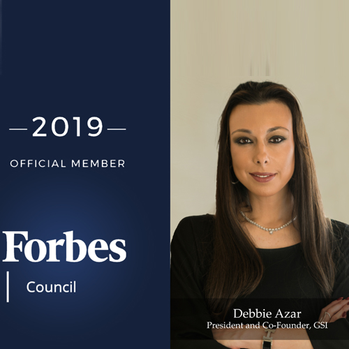 GSI's Debbie Azar Joins Forbes Executive Council in New York