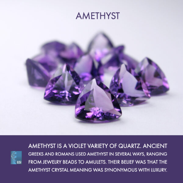 Amethyst:  The Trending Color of Winter