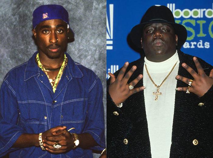 Tupac Shakur The Notorious B.I.G.